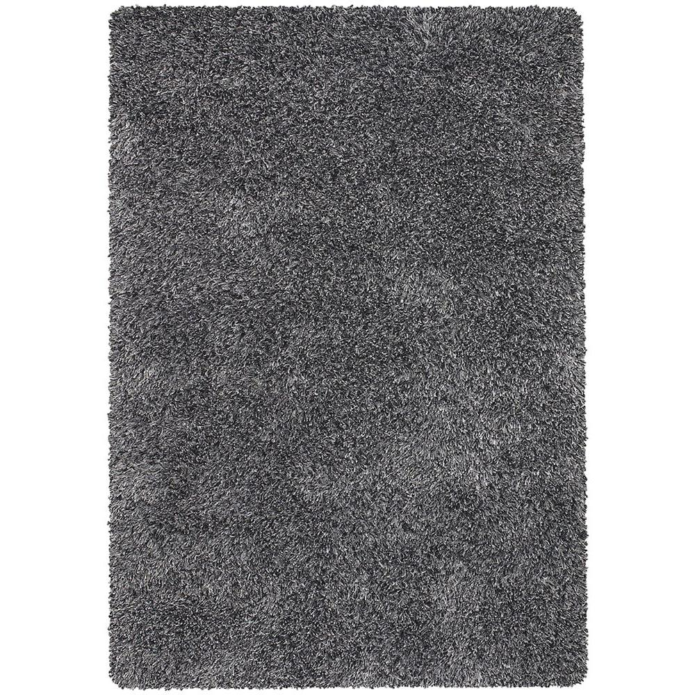 Orchid Black/Ivory/Grey 9 ft. x 13 ft. Indoor Area Rug