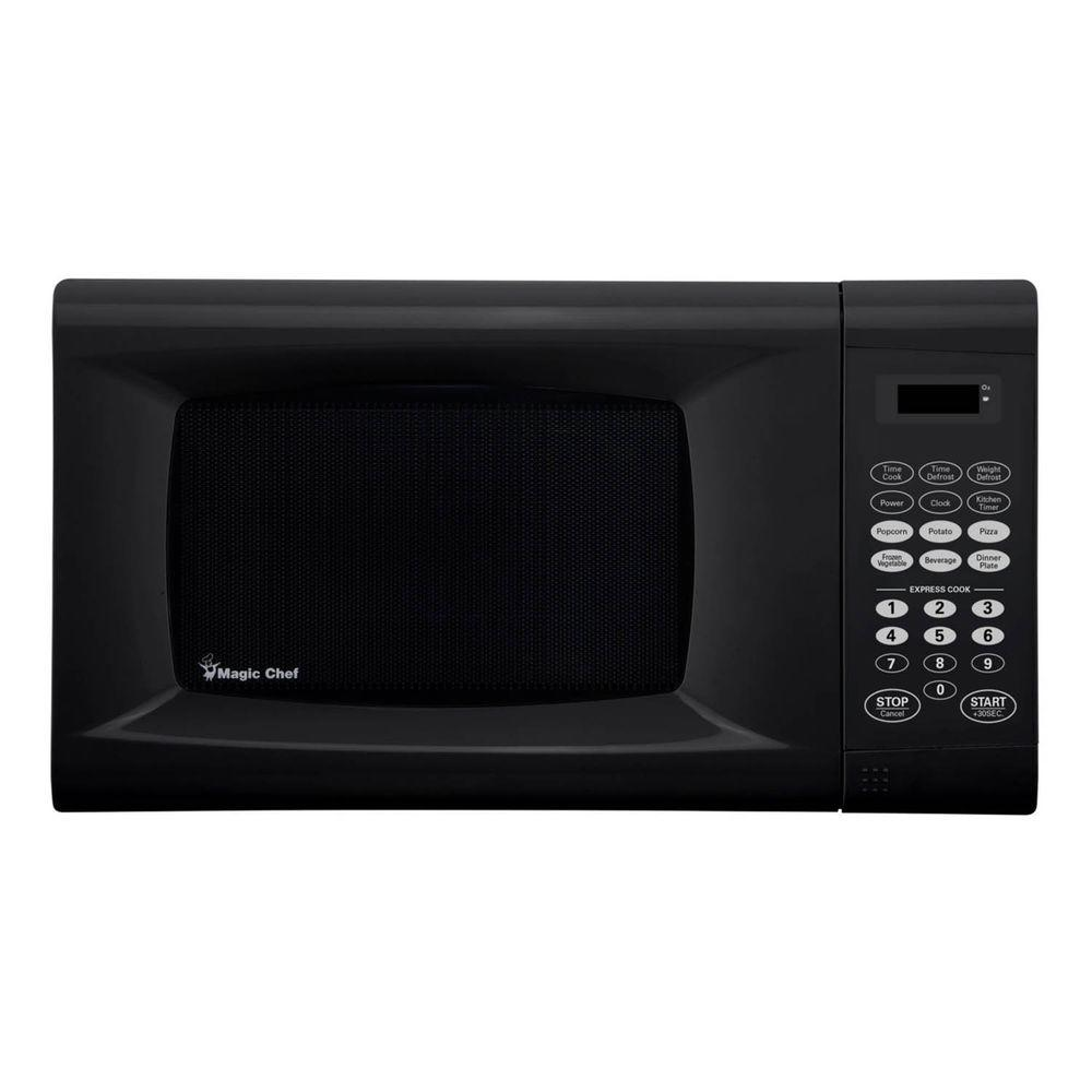 Magic Chef 0 9 Cu Ft Countertop Microwave In Black
