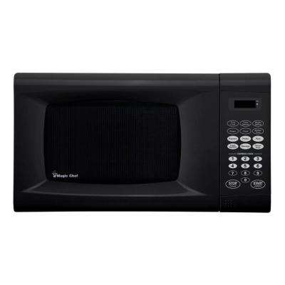 0.9 cu. ft. Countertop Microwave in Black