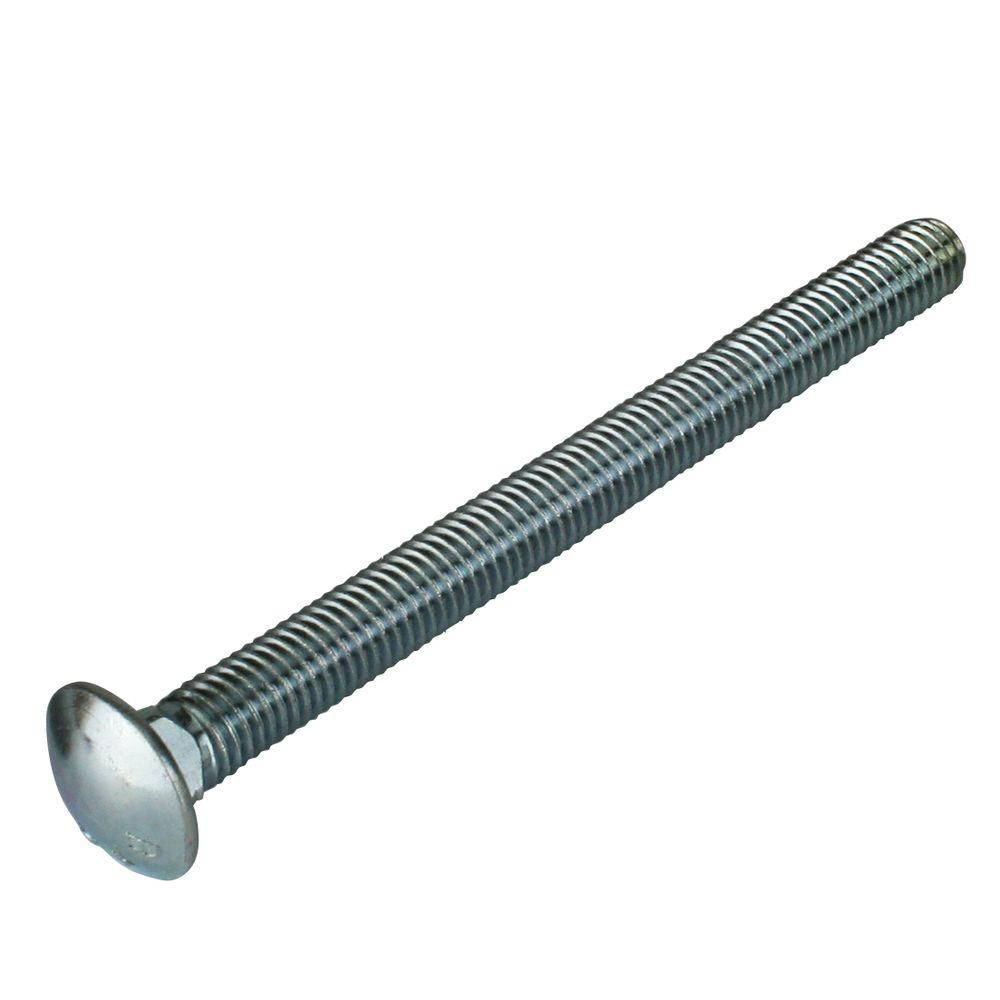 Everbilt 1/2 in. - 13 tpi x 6 in. Zinc-Plated Coarse Thread Carriage Bolt