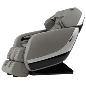 Titan Osaki Gray Faux Leather Reclining Massage Chair Ap