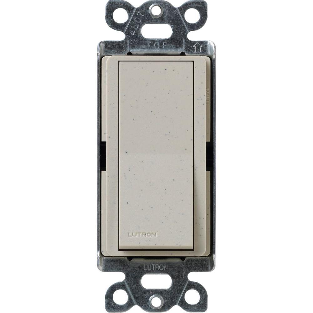 Lutron Claro On Off Switch 15 Amp Single Pole Stone