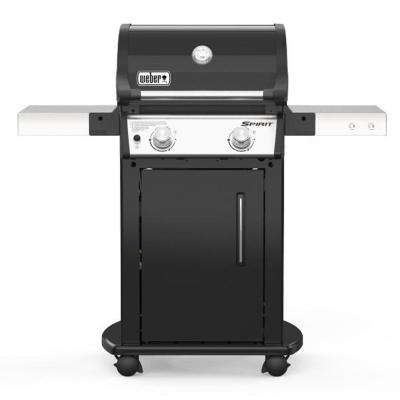 Spirit E-215 2-Burner Liquid Propane Gas Grill in Black