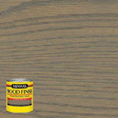 Wood Finish Classic Gray Oil Based Interior Stain (4 Pack)