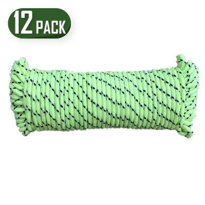 100 ft. Glow in the Dark Poly Rope (12-Pack)