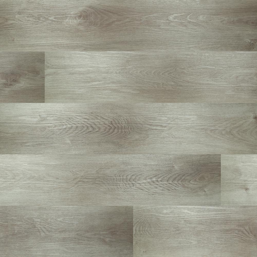Provance Gray 7.13 in. x 48.03 in. Rigid Core Luxury Vinyl Plank Flooring (23.77 sq. ft. / case)
