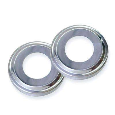 Stainless Steel Escutcheons for Pool Handrail Pair