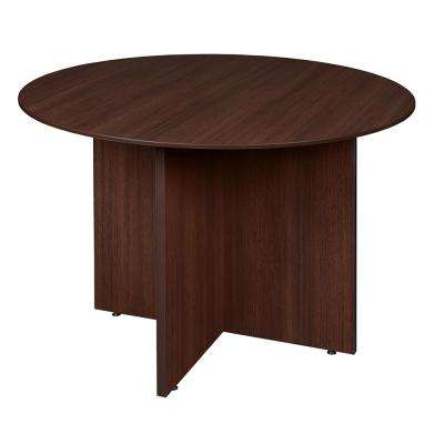 Sandia 42 in. Java Round Conference Table