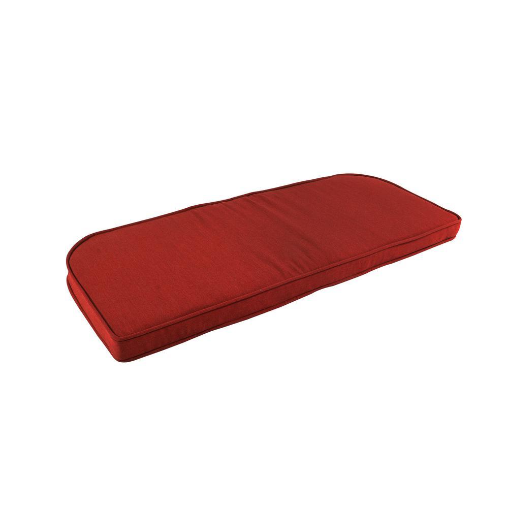 Pacifica Premium Caliente Double Welt Settee Seat Cushion