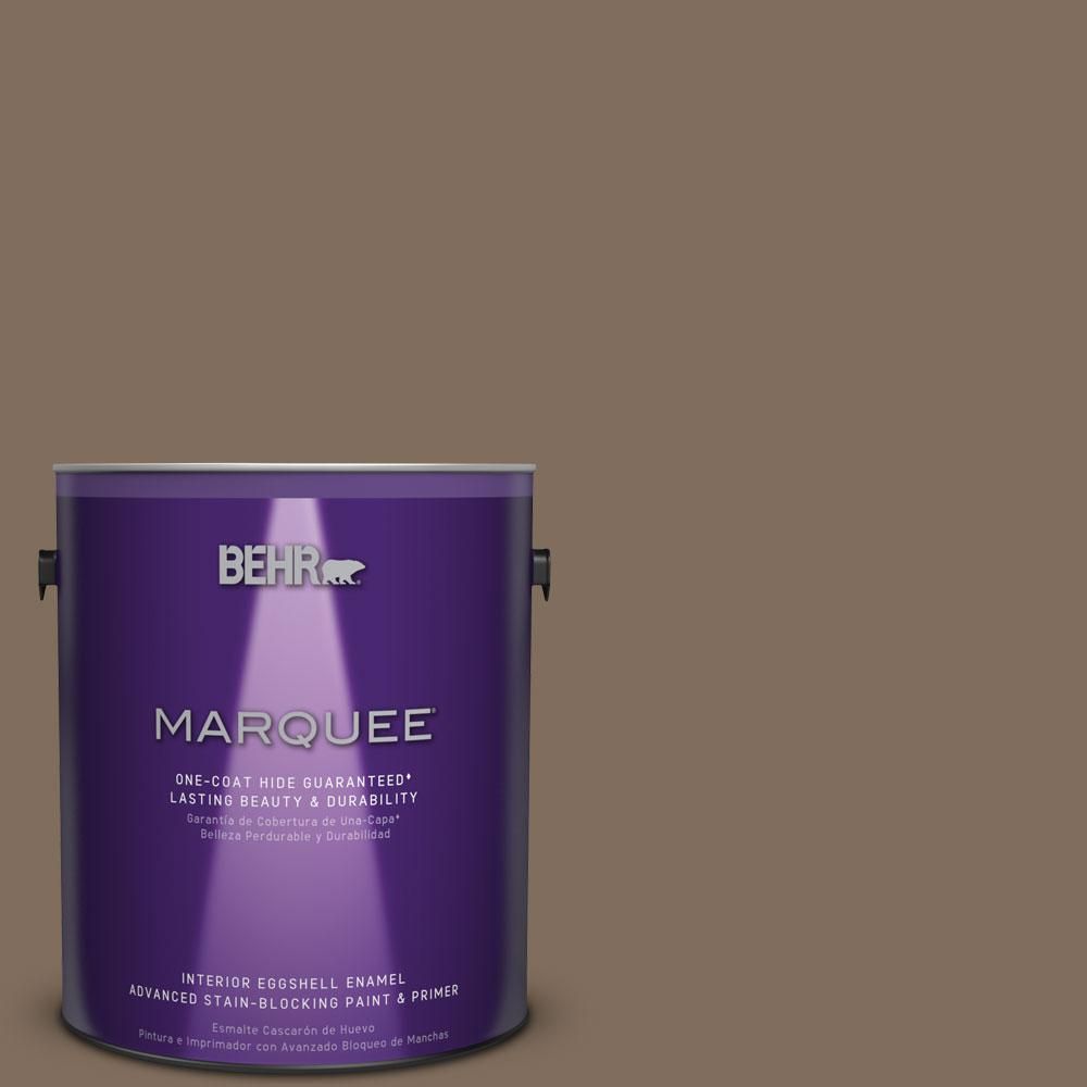 1 gal. #MQ2-49 Kaffee One-Coat Hide Eggshell Enamel Interior Paint