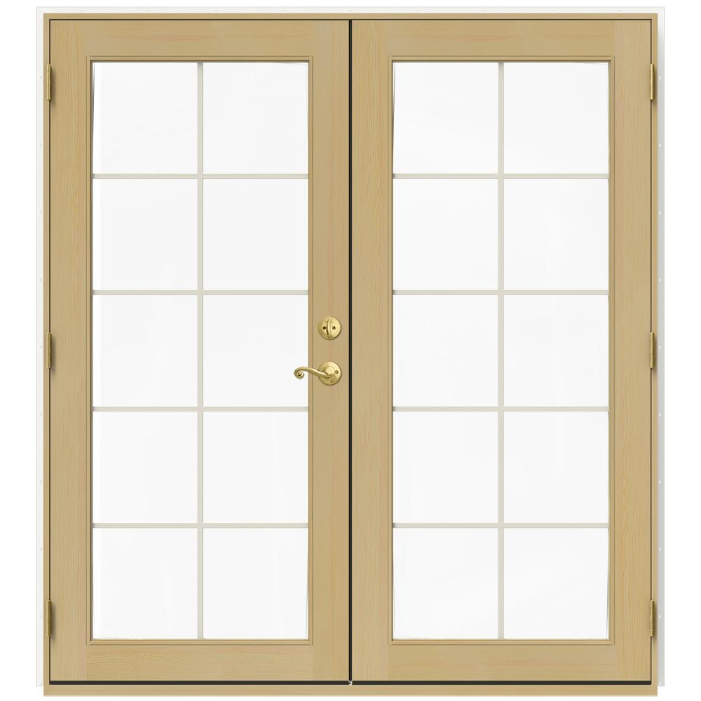 72 In. X 80 In. W 2500 White Clad Wood Right Hand