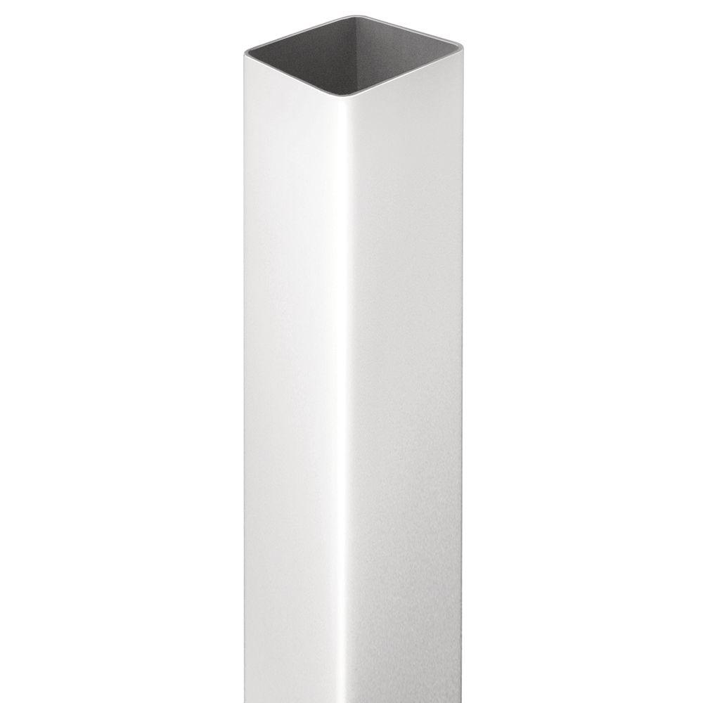 Veranda 5 in. x 5 in. x 45 in. Pro Rail Vinyl Stair Post