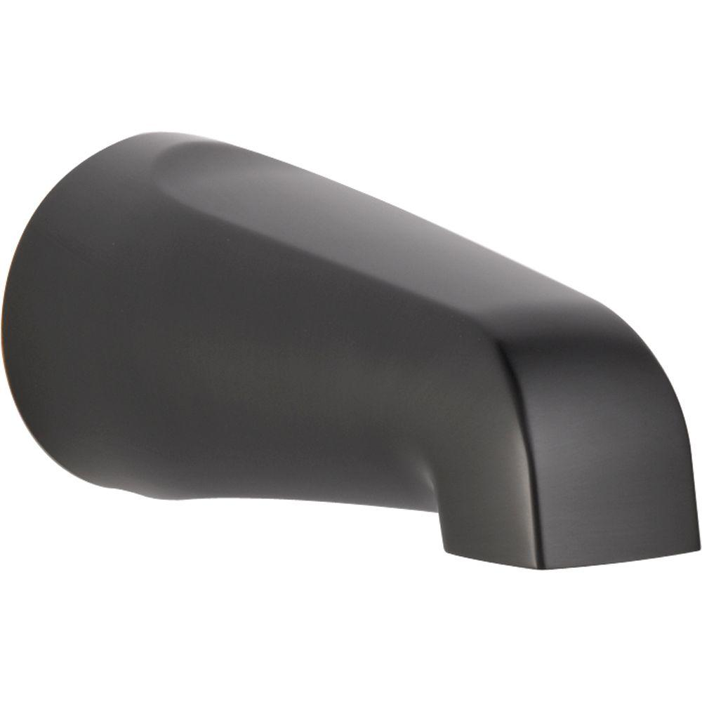 Delta Windemere Non-Diverter Tub Spout in Oil Rubbed Bronze ...