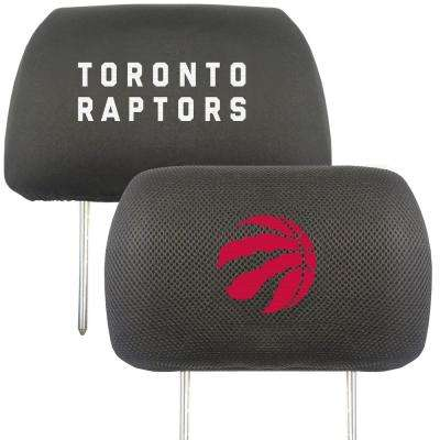 NBA - Toronto Raptors Embroidered Head Rest Covers (2-Pack)