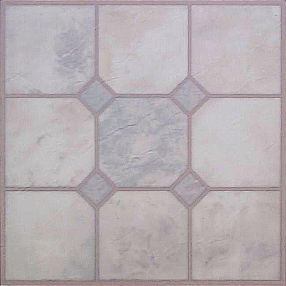 Vinyl tile self adhesive flooring image collections tile marble glow 12 in x 12 in vinyl tile 45 sq ft case 2204 vinyl tile doublecrazyfo Gallery