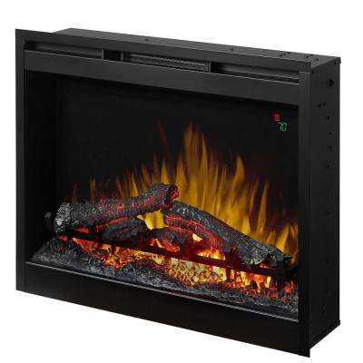 26 in. Electric Firebox Fireplace Insert