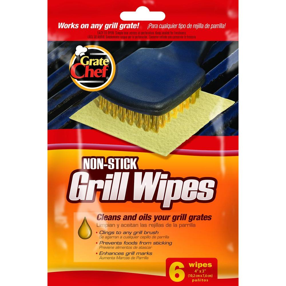 Grate Chef Non-Stick Grill Wipes (6-Pack)