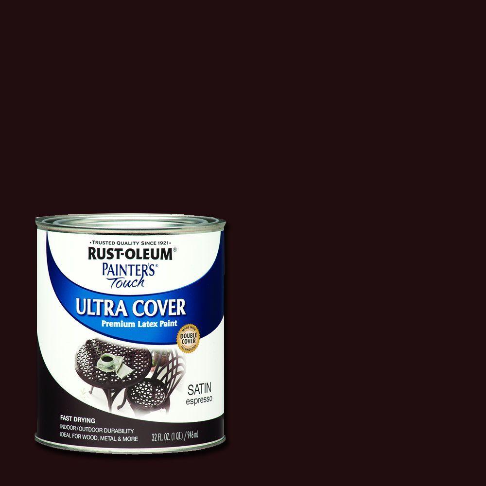 Rust-Oleum Painter's Touch 32 oz. Ultra Cover Satin Espresso General Purpose Paint (Case of 2)