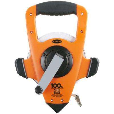 100 ft. Double Nylon Coated Tape Measure with Hook