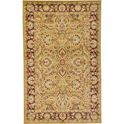 Voyage Asheville Tan 5' 0 x 8' 0 Area Rug