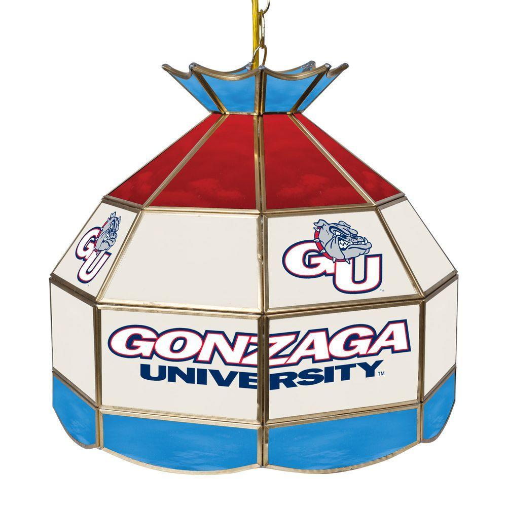 Trademark Global Gonzaga University 16 In. Gold Hanging