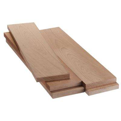 1 in. x 6 in. x 2 ft. FAS Cherry S4S Board (5-Piece/Case)