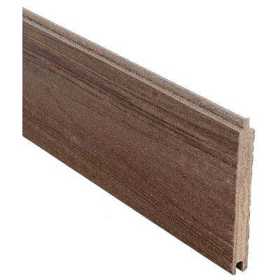 0.41 ft. H x 5.91 ft. W Euro Style King Cedar Tongue and Groove Composite Fence Board