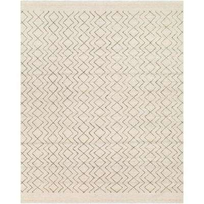 Purcell Cream/Brown 8 ft. x 10 ft. Area Rug