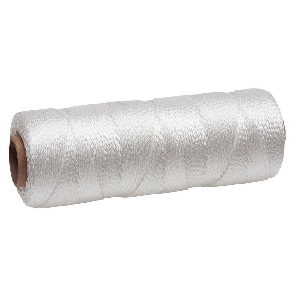 #18 x 325 ft. White Polypropylene Twisted Mason Line