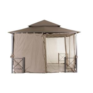 Replacement Privacy Wall Outdoor Patio for 12 ft. x 12 ft. Harbor Gazebo