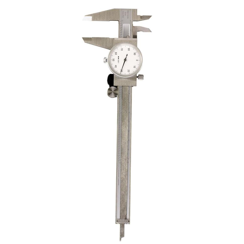 General Tools 6 In  Stainless Steel Dial Caliper-107