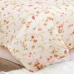 C&F HOME Abigail White King Quilt Set