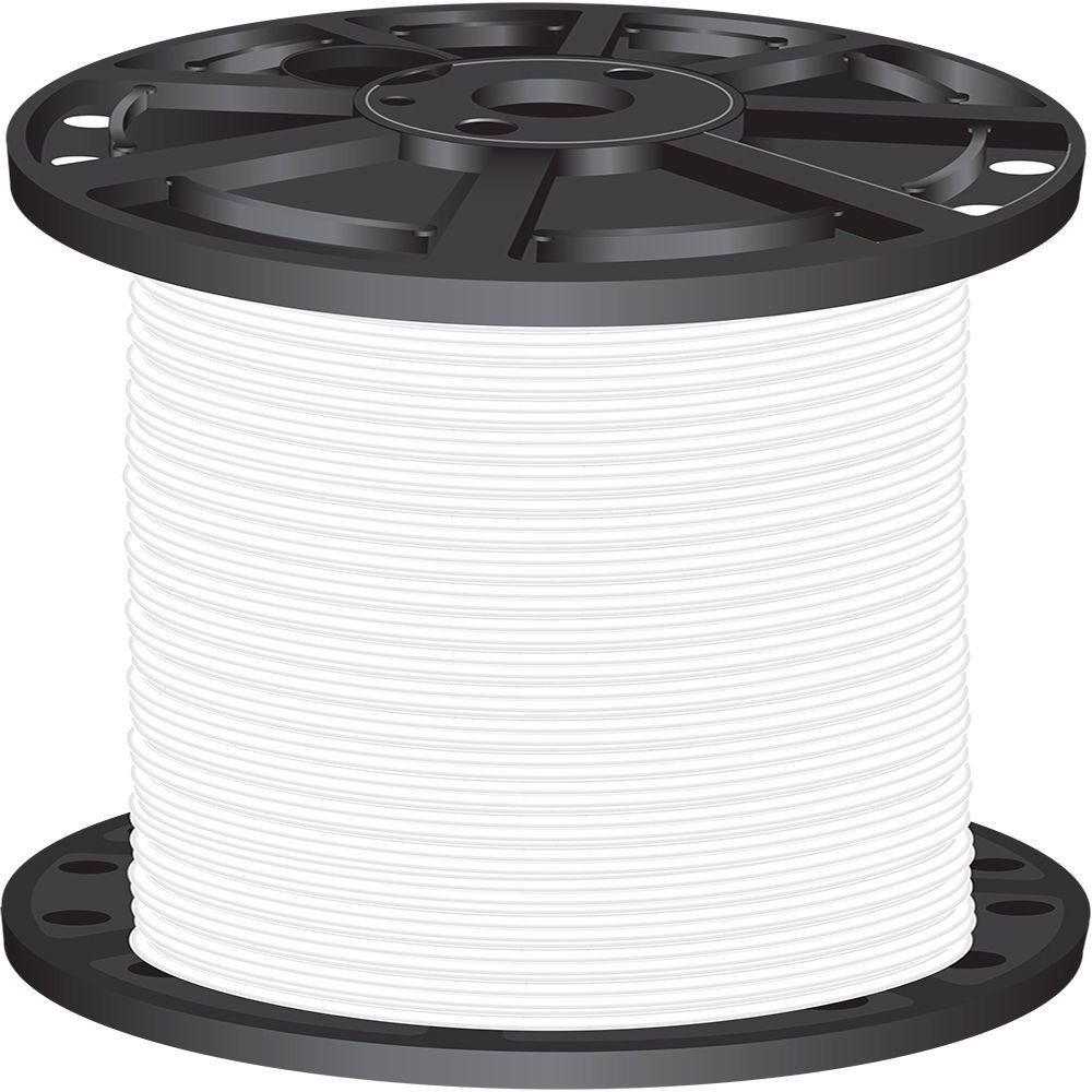 Cerrowire 50 ft. 6-Gauge White Stranded THHN Wire-112-4202BR - The ...