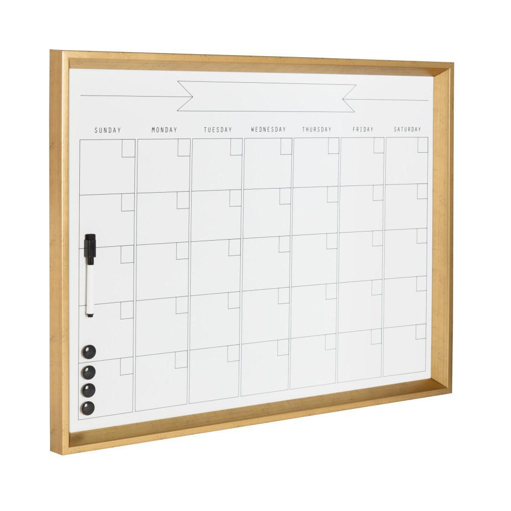 Calter Monthly Dry Erase Calendar Memo Board