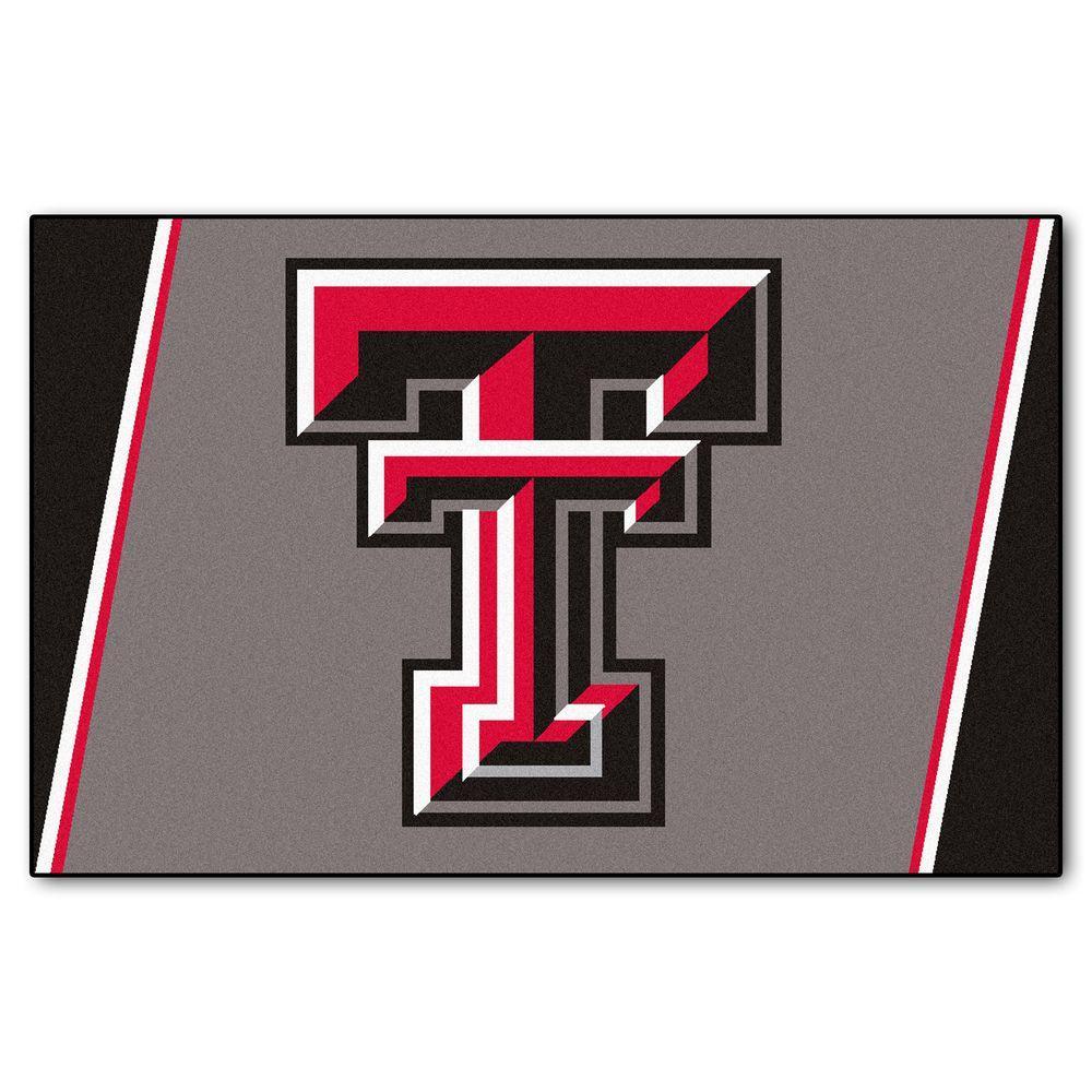 FANMATS Texas Tech University 4 ft. x 6 ft. Area Rug