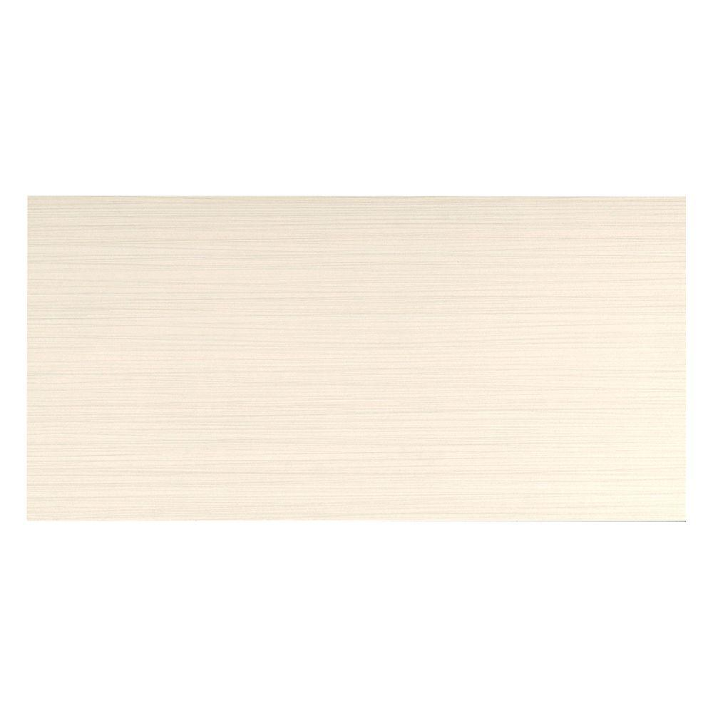 Italia Zen Crema 12 in. x 24 in. Porcelain Floor and