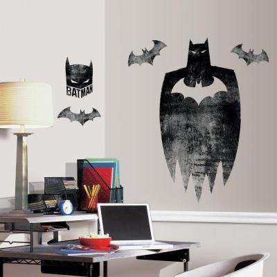 H Batman Silhouette 5 Piece Peel And