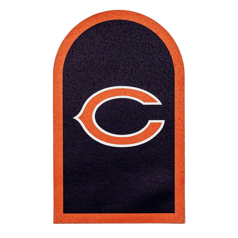 nfl chicago bears mailbox door logo graphic nfma0601 the home depot