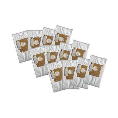 Cloth Bags Replacement for Electrolux Style S and Eureka Style OX Part 61230, 61230A, 61230B, 61230C (12-Pack)