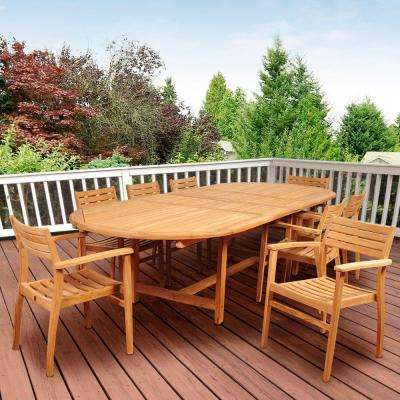 Teak 2000 3000 patio dining furniture patio furniture the home depot Home depot teak patio furniture