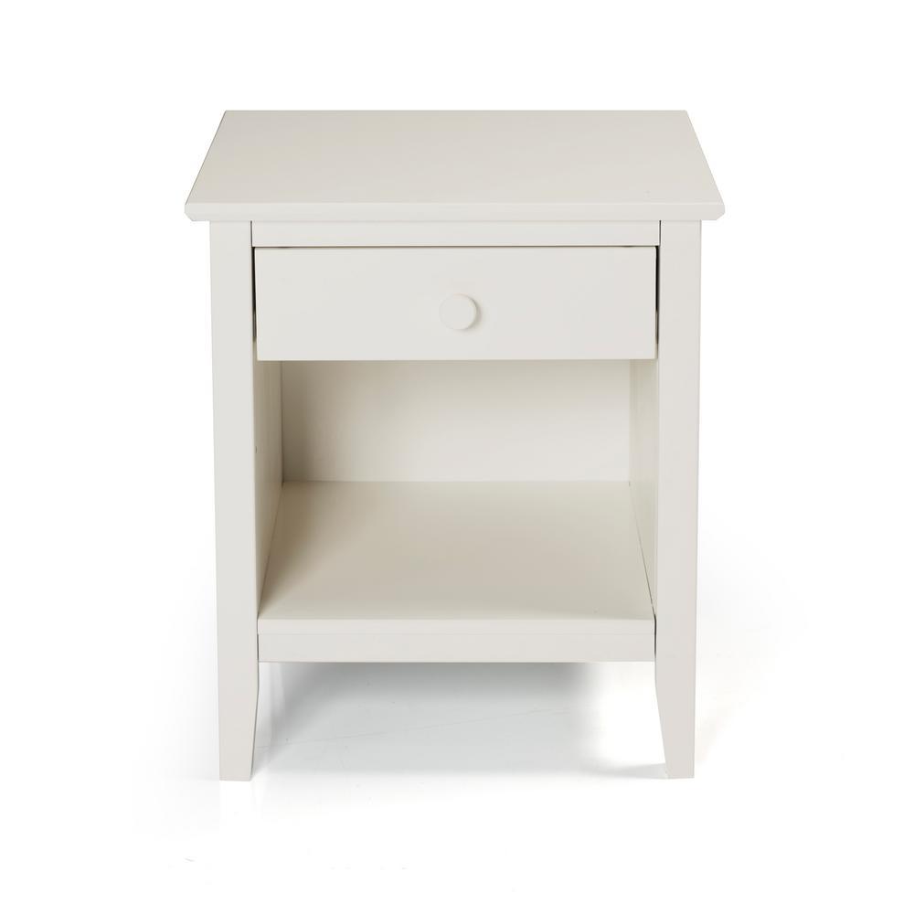 Simplicity Nightstand, White