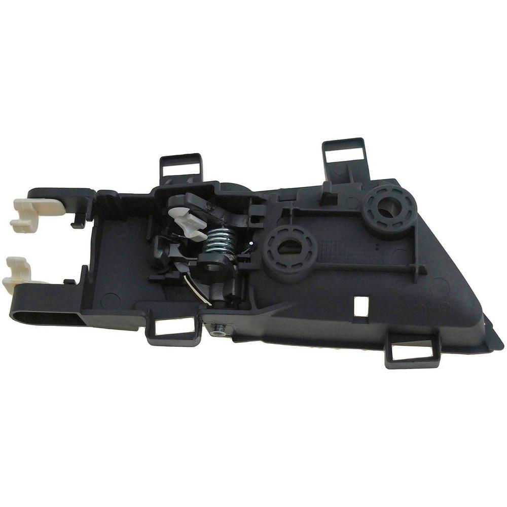 HELP Interior Door Handle Rear Left Silver Lever/Black