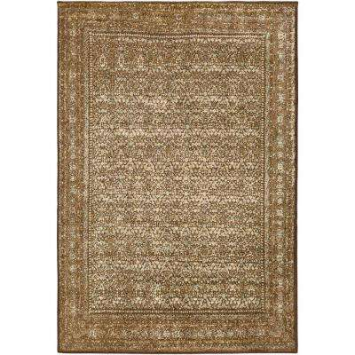 Juargas Brown/Olive 9 ft. x 13 ft. Indoor Area Rug