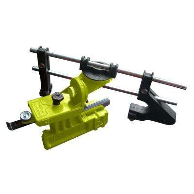 Manual Bar Mount Chainsaw Chain Sharpener with accommodating 6 in. and 8 in. Chainsaw Files