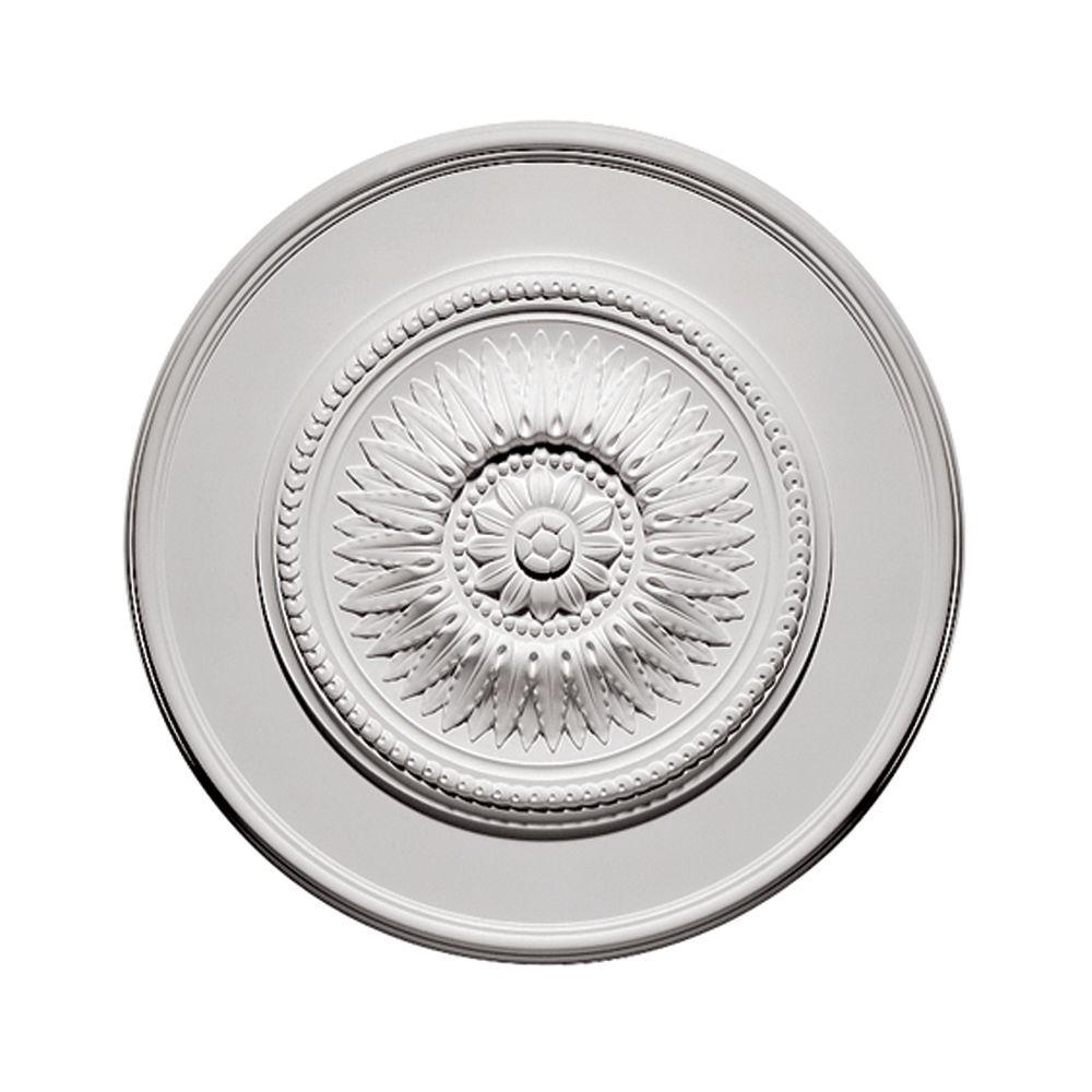 30 in. Sunflower Ceiling Medallion