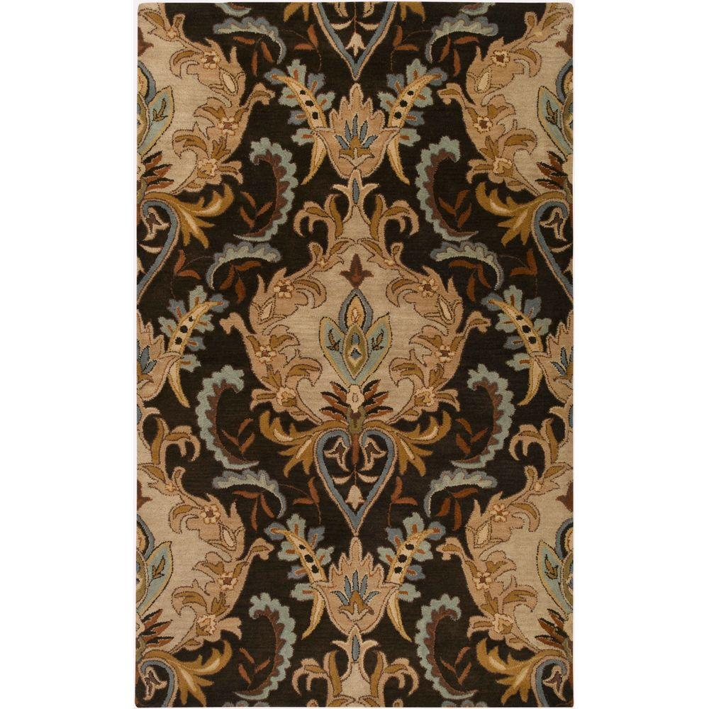 Catania Black 8 ft. x 11 ft. Area Rug