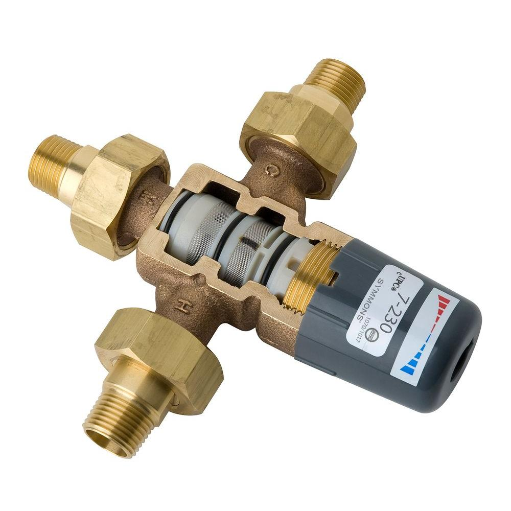 Maxline 3/4 in. Brass NPT High Flow Valve