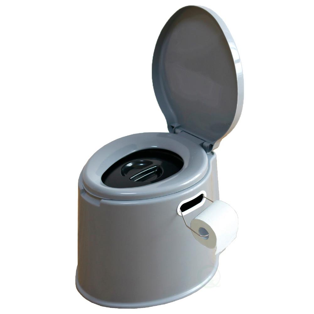 PLAYBERG Portable Travel Toilet For Camping and Hiking, Non-electric Waterless Toilet