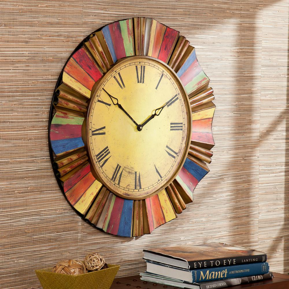 How to Make a Multicolor Clock for Your Kitchen