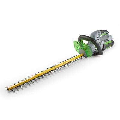 24 in. 56-Volt Lithium-ion Cordless Hedge Trimmer with 2.5Ah Battery and Charger Included